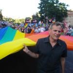 ניצן במצעד הגאווה בירושלים 2011