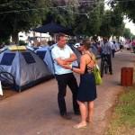 nitzan at tlv tents camp