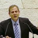 ניצן נואם מעל בימת הכנסת